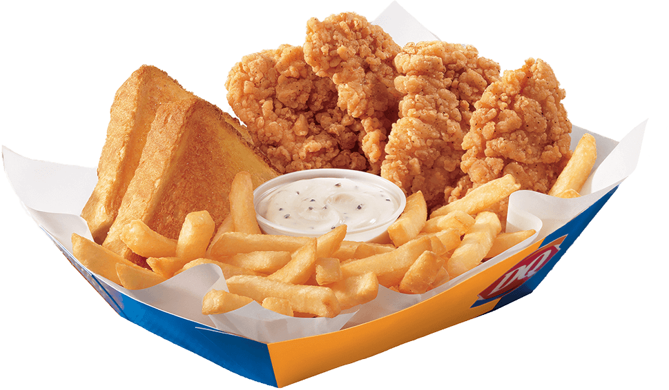 Dairy Queen Chicken Strips Basket
