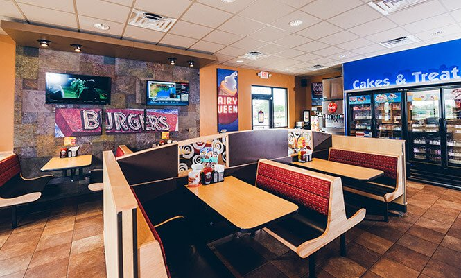 Inside Dairy Queen Grill & Chill