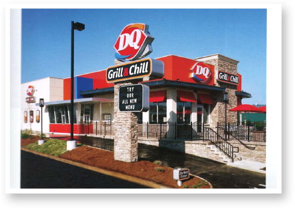 The first DQ Grill & Chill® restaurant opens in Chattanooga, Tennessee. With an evolved menu and strong branding, the Dairy Queen Grill & Chill® concept continues to be the strongest investment in DQ® history.